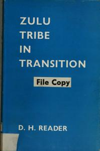 Zulu Tribe in Transition Book