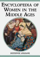 Encyclopedia of Women in the Middle Ages PDF