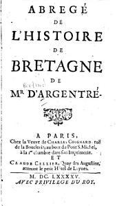 Abregé de l'histoire de Bretagne