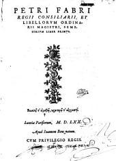 Semestrium Liber Primus [-Secundus]