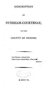 Description of Nuneham-Courtenay: In the County of Oxford
