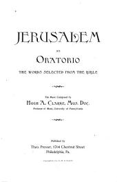 Jerusalem: An Oratorio