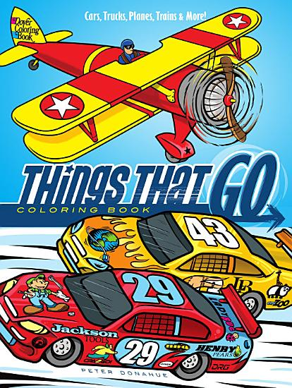 Things That Go Coloring Book PDF