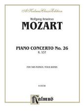 Piano Concerto No. 26 in D, K. 537: Piano Duo (2 Pianos, 4 Hands)