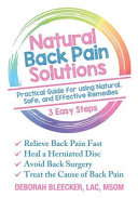 Natural Back Pain Solutions