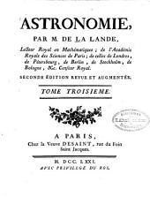 Astronomie: Volume3