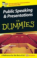 Public Speaking and Presentations for Dummies PDF