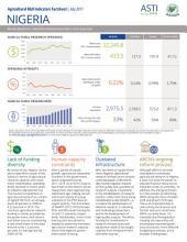 Nigeria: Agricultural R&D Indicators Factsheet
