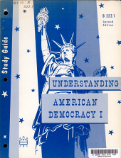 Study Guide for Understanding American Democracy I PDF