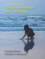 A Comprehensive Guide to Child Psychotherapy and Counseling PDF