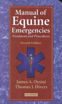 Manual of Equine Emergencies