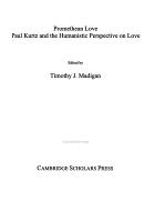 Promethean Love PDF