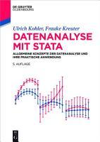 Datenanalyse mit Stata PDF