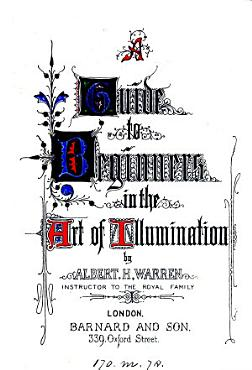A guide to beginners in the art of illumination PDF