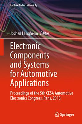 Electronic Components and Systems for Automotive Applications