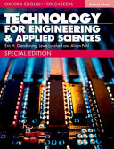 Oxford English for Careers Technology for Engineering and Applied Sciences  Student Book PDF