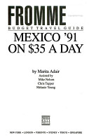 Mexico on Thirty Five Dollars a Day  1991 PDF