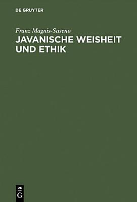 Javanische Weisheit und Ethik PDF