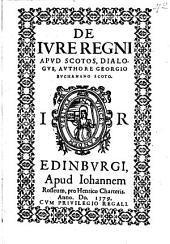 De iure regni apud Scotos, dialogus