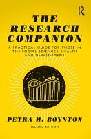 The Research Companion PDF