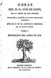 Obras: Exposicion del libro de Job ; [1], Volumen 1