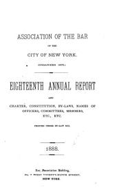 Yearbook - Association of the Bar of the City of New York