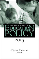 Brookings Papers on Education Policy 2005