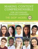 Making Content Comprehensible For Secondary English Learners Book PDF