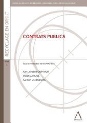 Contrats publics: Contraintes et enjeux