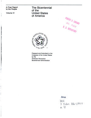 The Bicentennial of the United States of America PDF