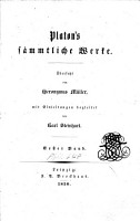 Plato s s  mmtliche Werke PDF