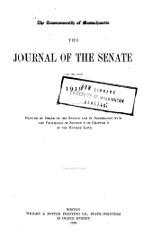 Journal of the Senate: Volume 140