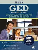 GED Preparation 2017 Book