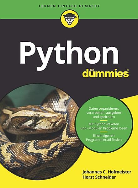 Python f  r Dummies PDF
