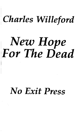 New Hope for the Dead PDF