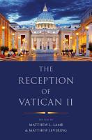 The Reception of Vatican II PDF