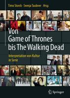 Von Game of Thrones bis The Walking Dead PDF