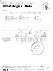 Climatological data: Indiana, Volume 85