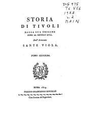 Storia di Tivoli: Volume 2