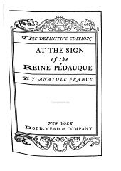 At the Sign of the Reine Pédauque