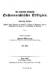 Der Kaiserlich-KOnigliche Oesterreichische Offizier