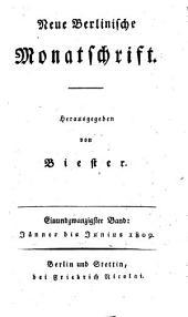 Neue berlinische Monatsschrift: Band 21