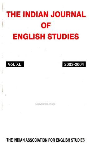 The Indian Journal of English Studies PDF