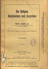 Die Religion Babyloniens und Assyriens...