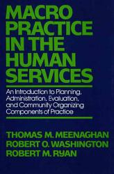 Macro Practice In The Human Services Book PDF