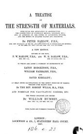 A treatise on the strength of materials