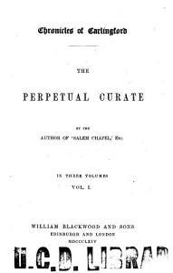 The Perpetual Curate Book