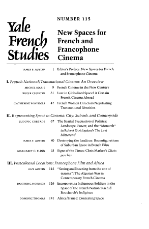 New Spaces for French and Francophone Cinema PDF