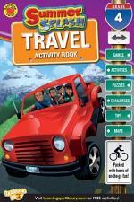 Summer Splash Travel Activity Book, Grade 4
