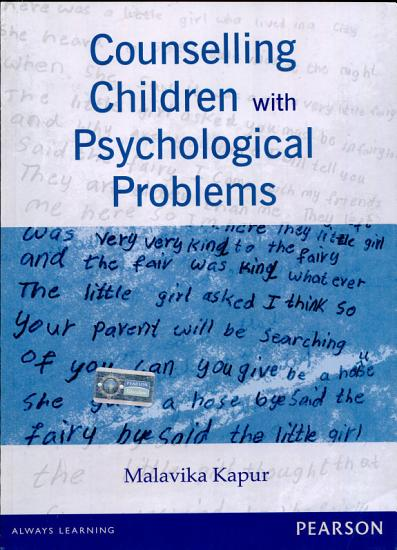 Counselling Children with Psychological Problems PDF